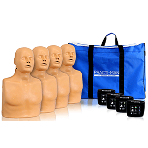 pack of 4 plus manikins with bag